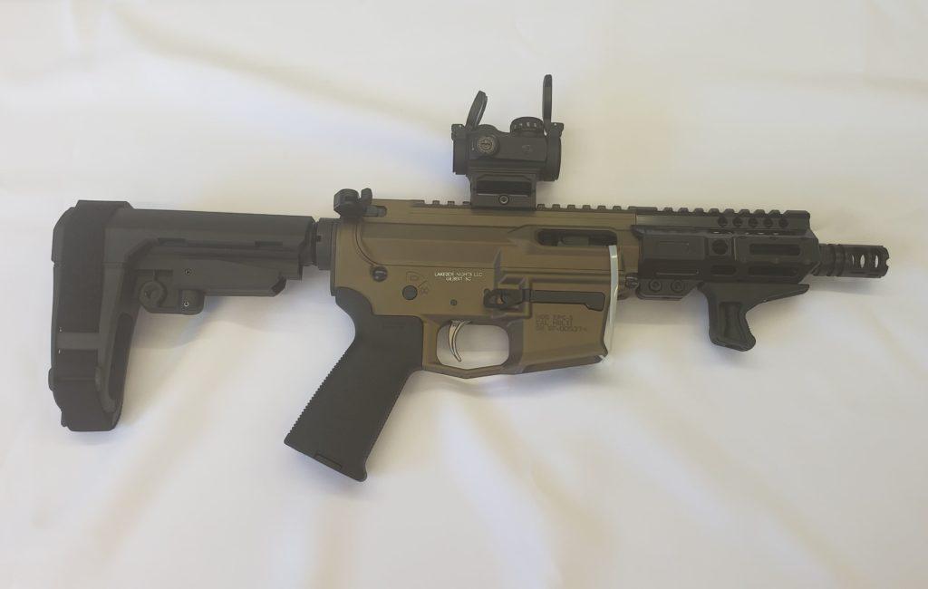 custom built pistol custom built rifle 9mm