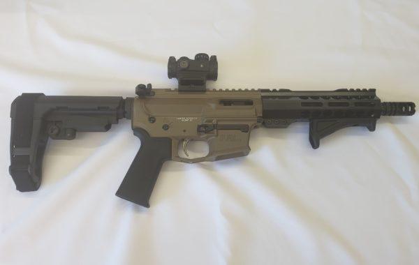 custom built rifle 9mm custom pistol